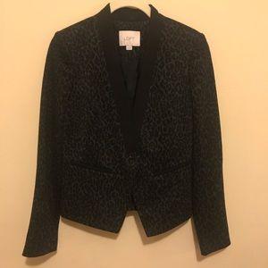 LOFT animal print blazer